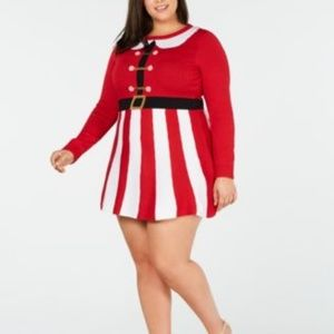 NWT Planet Gold Christmas Dress Size 1X